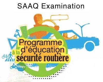 SAAQ Road Safety Education Program Test